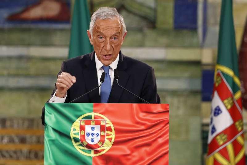 葡萄牙現任總統德索薩24日順利連任(美聯社)