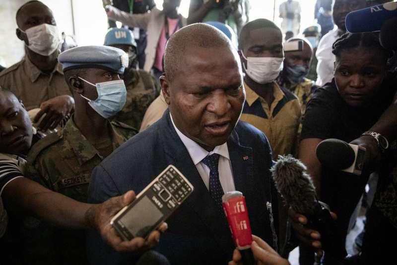 中非共和國總統圖瓦德拉(AP)