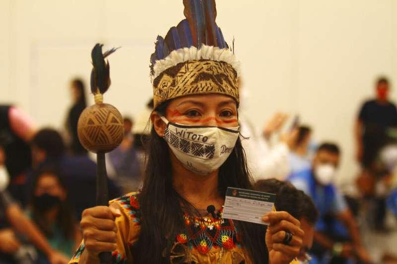 (示意圖)新冠肺炎疫情重創巴西原住民社群。(美聯社)
