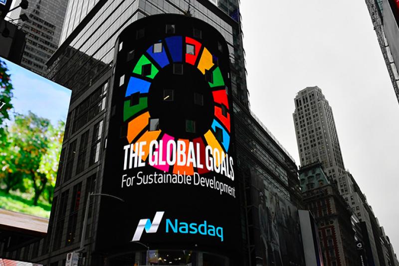 聯合國宣布的責任銀行原則,是將銀行業務結合永續發展,協助銀行為社會作出積極貢獻,以實現聯合國2030年SDGs永續發展及巴黎協議目標。(圖/綠學院提供)