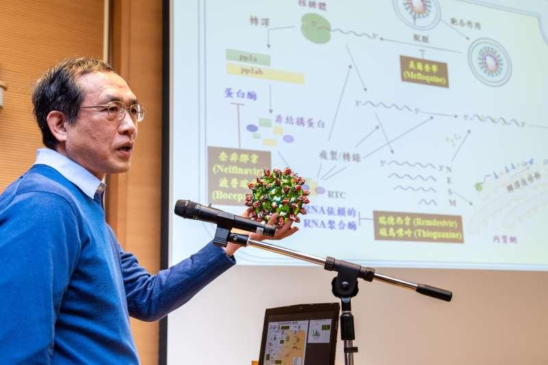 20210127-基因體研究中心主任洪上程。(中研院提供)