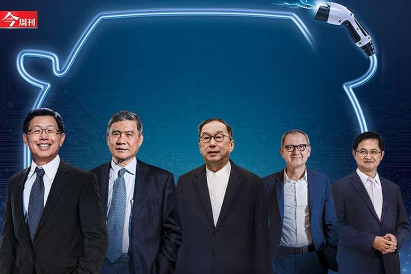 正如童子賢所言,「未來汽車結構中,有70%產值將來自車用電子」,讓向來在全球科技產品扮演重要代工角色、飽受「毛三到四」之苦的台灣科技業,找到翻轉的機會。 (圖/今周刊)
