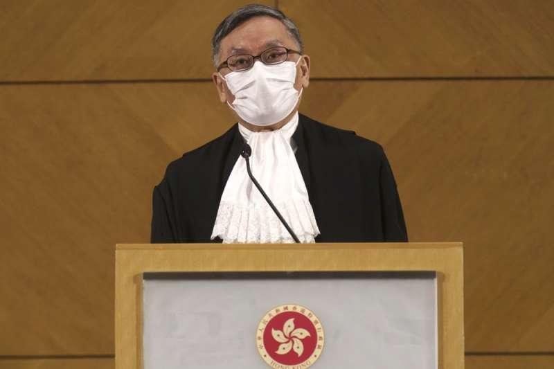 香港終審法院首席法官張舉能(美聯社)