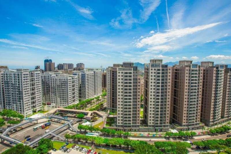 林口區登「遷入人口排名第一」,專家:房市前景相當看好。(圖/我是林口人粉專)