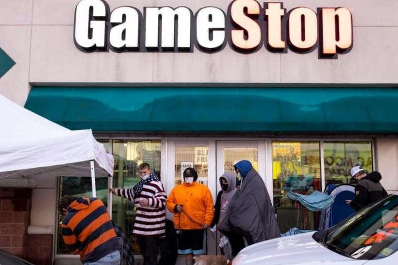 Gamestop股價暴漲:美國股市年輕散戶與華爾街鬥法顯現的「世代對抗」(圖片來源:GETTY IMAGE)