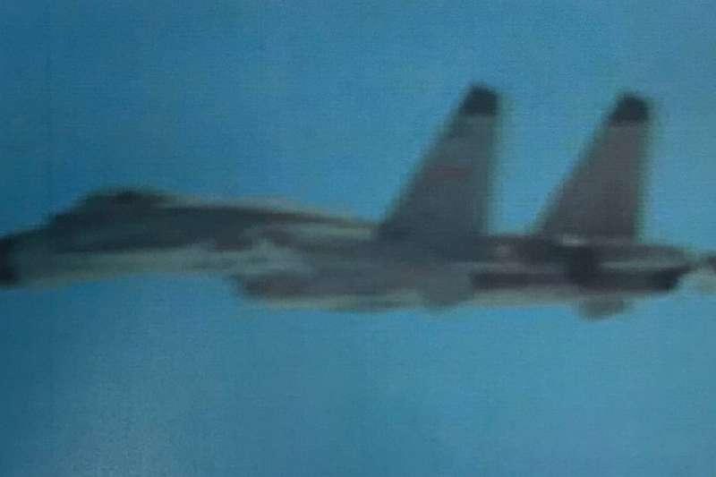 20210131-共機殲-11戰機。(空軍司令部提供)