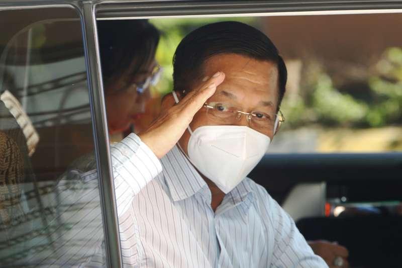 2021年2月1日,緬甸軍頭敏昂萊(Min Aung Hlaing)發動政變,國務資政翁山蘇姬和其他政府高層遭逮捕拘禁(AP)