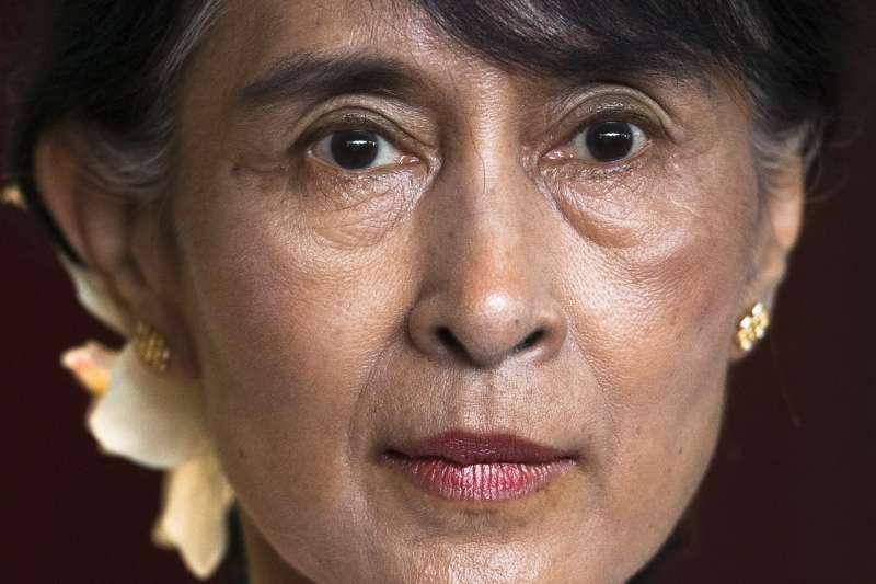 2021年2月1日,緬甸軍方發動政變,國務資政翁山蘇姬和其他政府高層遭逮捕拘禁(AP)