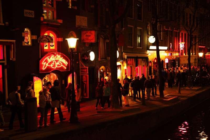 荷蘭阿姆斯特丹紅燈區未來將遷出市中心(取自Pixabay)