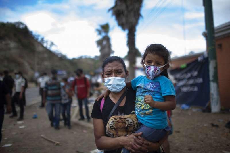 宏都拉斯移民。(資料照,AP)