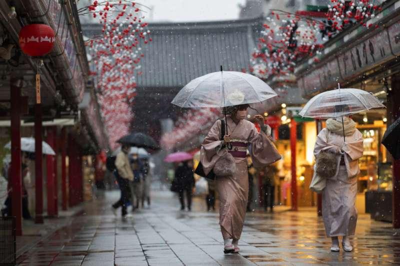 日本女性。(美聯社)