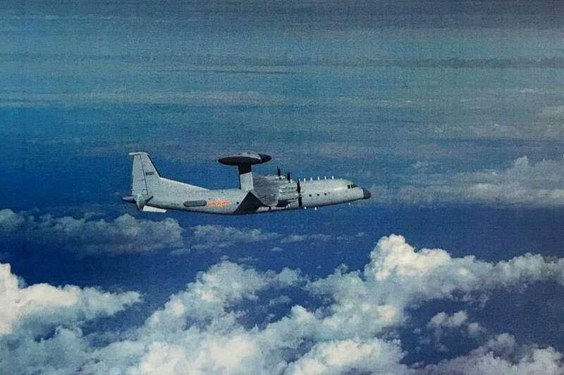 共軍曾出動空警500預警機進入我防空識別區西南空域。(空軍司令部提供)