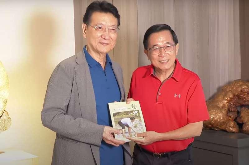 趙少康時隔25年再喊亡國論 「老對手」陳水扁直言:起手式錯了-風傳媒