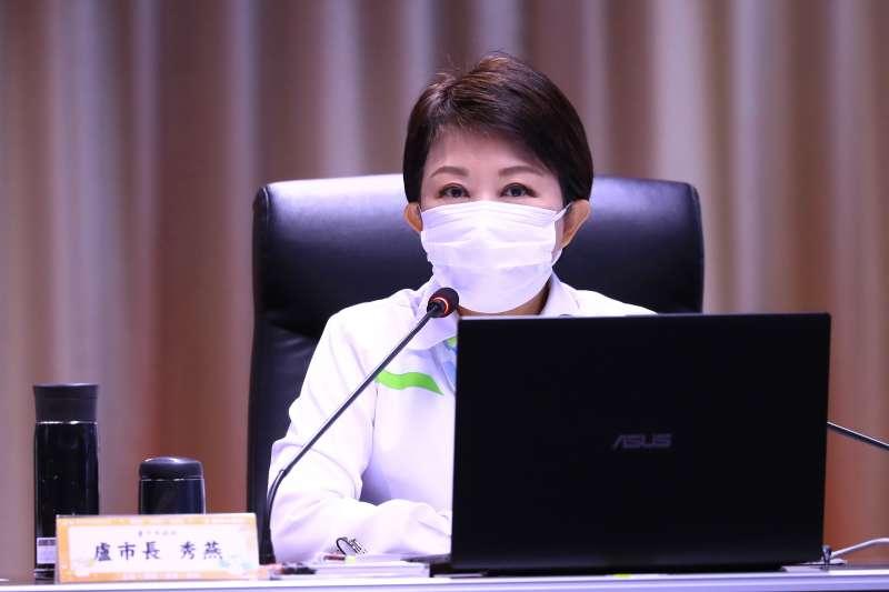 對於有醫師在女友居家檢疫期間2度陪睡,台中市長盧秀燕忍不住怒斥「可惡至極」!(資料照,臺中市政府)