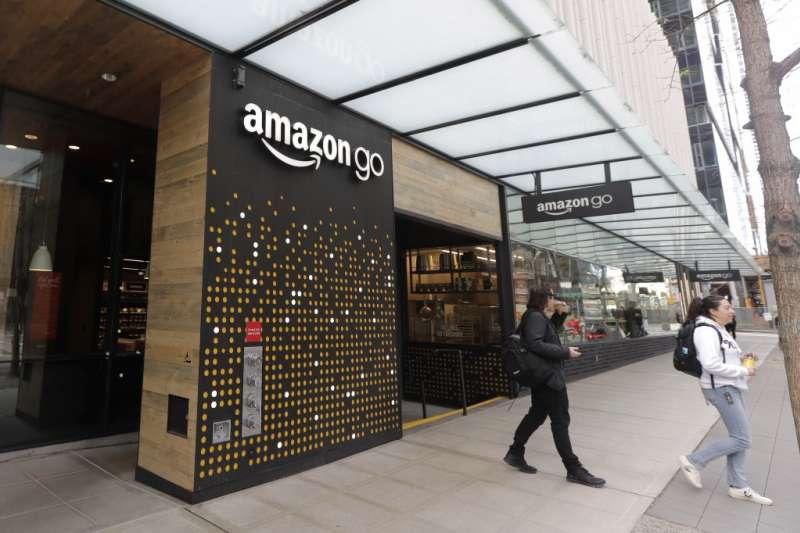亞馬遜的無人商店 Amazon Go(美聯社)