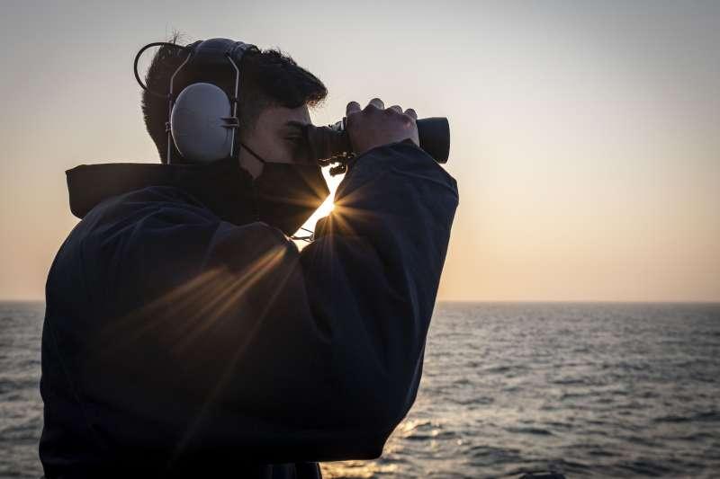 20210204-國防部4日證實,1艘美軍作戰艦通過台灣海峽。(取自美國海軍第7艦隊官網)