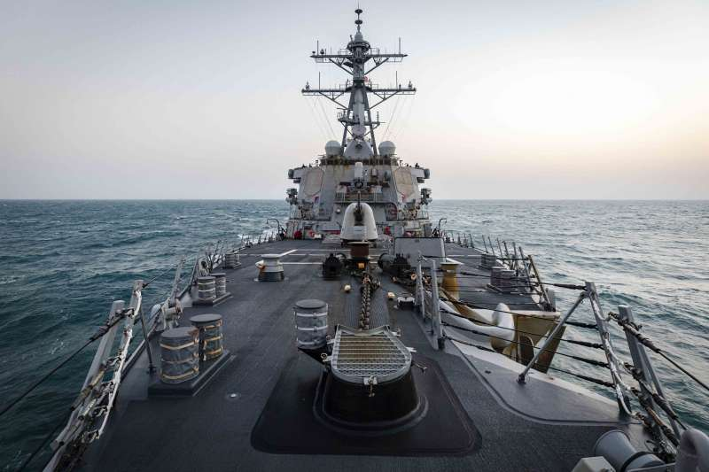 國防部4日證實,1艘美軍作戰艦通過台灣海峽。(取自美國海軍第7艦隊官網)