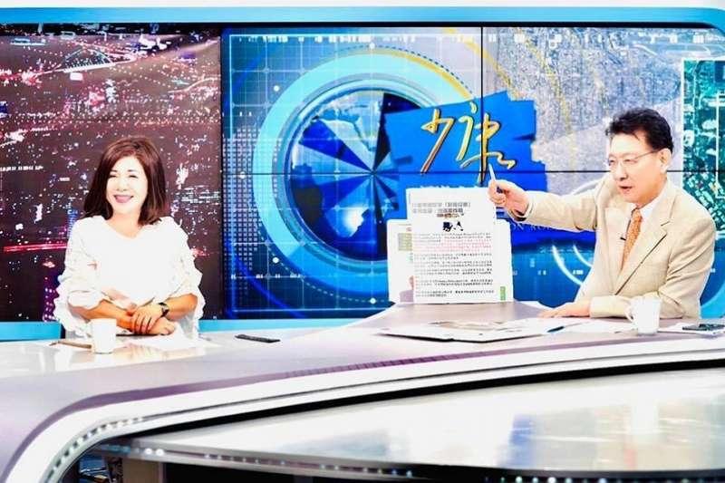 陳文茜與趙少康,從不同政黨的「政敵」,成為最好的朋友。(陳文茜臉書)