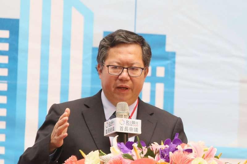 鄭文燦桃園市長任期將至,能否成功交棒將影響他競選2024總統的氣勢。(資料照,柯承惠攝)