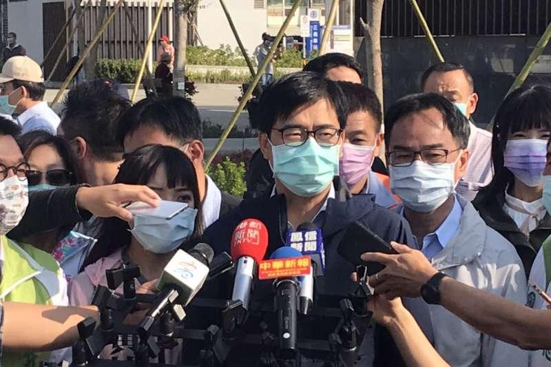 陳其邁合體黃捷表支持 罷韓大將張博洋:如果對韓國瑜不敬就要被罷免,93萬