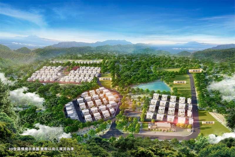 「雅典大地」宛若北台灣的比佛利山莊。(圖/富比士地產王提供)