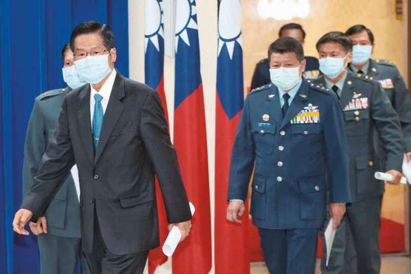 國防部長換人的風聲不斷傳出。(多維TW提供)