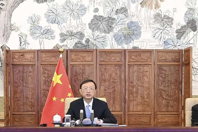 中共中央政治局委員、中央外事工作委員會辦公室主任楊潔篪(AP)