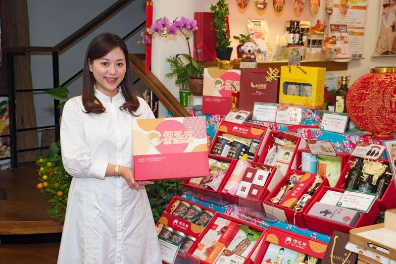 棉花田推出多樣有機禮盒,送禮更兼顧健康。(圖/棉花田提供)