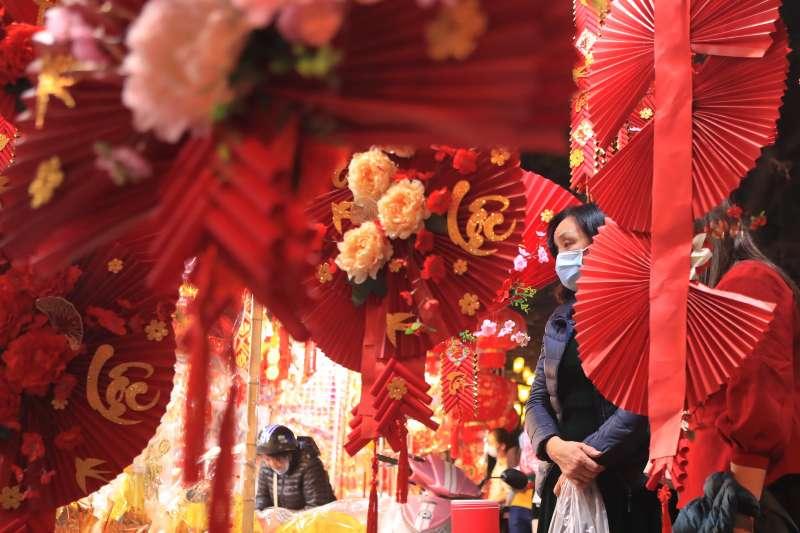 越南把農曆新年稱作元旦節(AP)