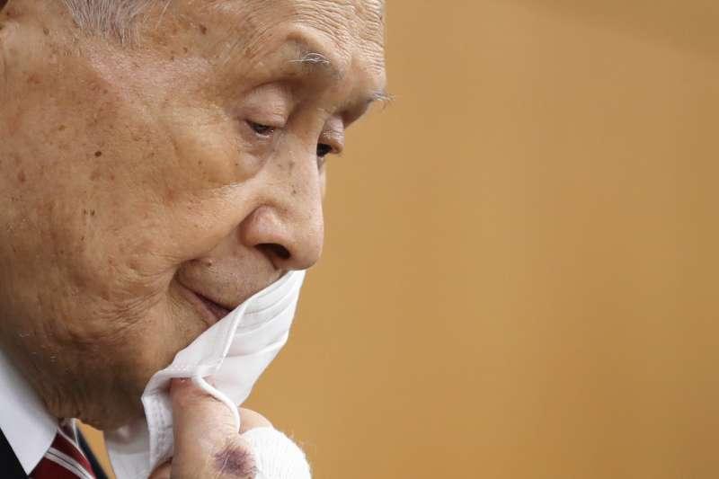 日本前首相、東京奧運和帕運組織委員會主席森喜朗(AP)
