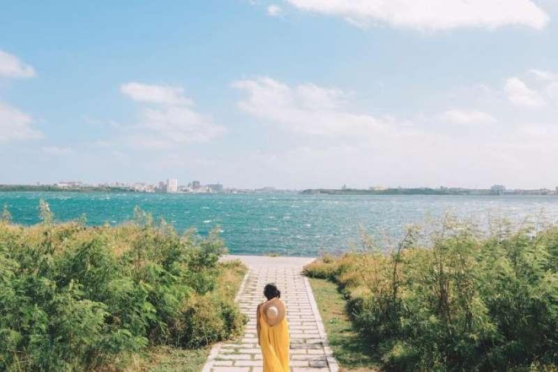 澎湖景點-蛇頭山。(圖/Tripbaa趣吧)