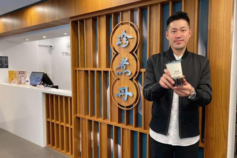 「珍煮丹」董事長高永誠表示,珍煮丹擁有12年品牌經驗,特別舉辦「挺你當老闆」限額優惠加盟活動,想創業的民眾可得把握機會。(圖/珍煮丹提供)