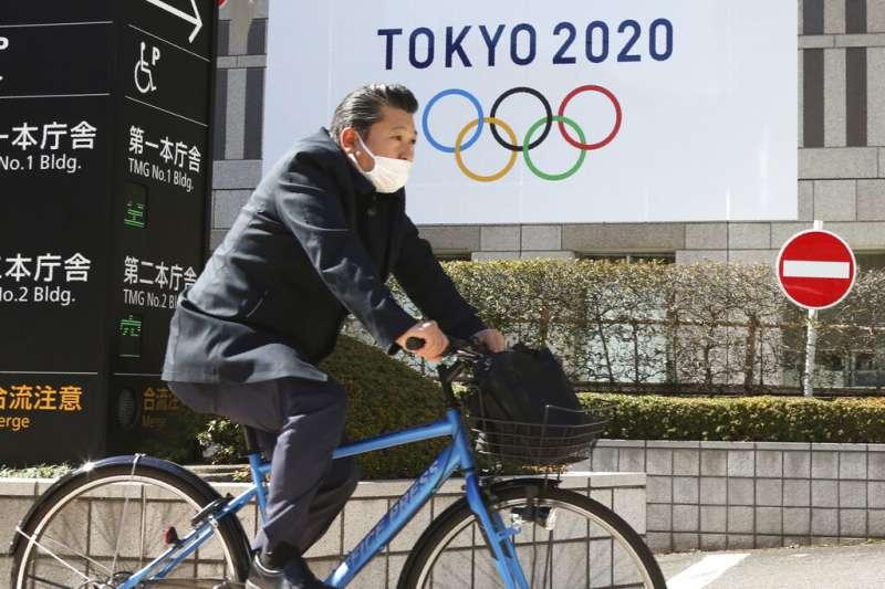 2020東京奧運在延期一年後,能否如期舉行,至今仍在未定之天。(美聯社)
