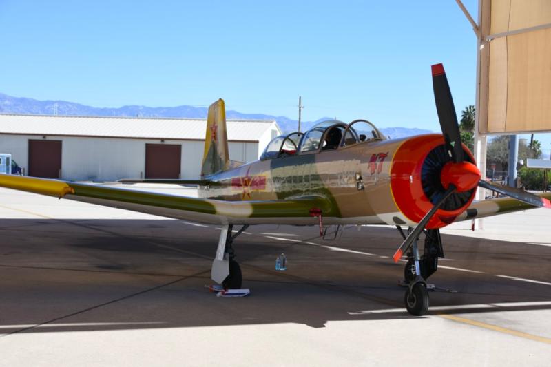 不只是初教-6大量來到美國,就連從中華民國空軍叛逃到中共陣營,後來成為初教-6首席試飛員的飛行員也都在晚年移居美國,他的故事筆者未來將撰文繼續介紹。(許劍虹攝)
