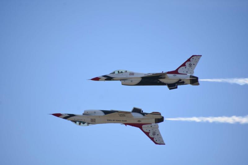 中華民國空軍雷虎小組成軍之初,飛行技術絲毫不輸雷鳥,但層峰的不重視讓台灣痛失「飛行員王國」美名。(許劍虹攝)