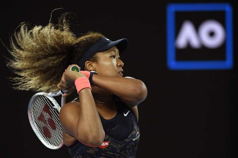2021年2月20日,澳洲網球公開賽女子單打決賽,大坂直美奪冠(AP)