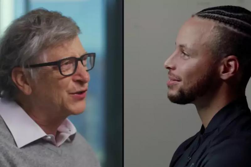 微軟創辦人比爾蓋茲常給人「大老闆」、「面試別人」的形象,那如果他化身為面試者,會有怎樣出色的表現呢?(圖/翻攝自YouTube)
