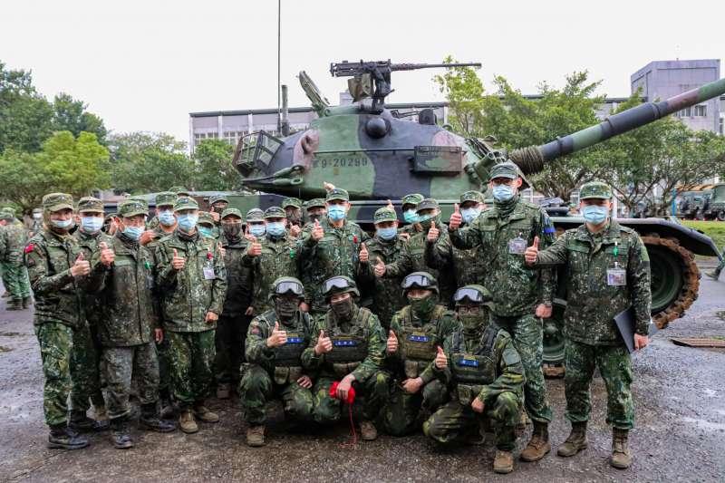 20210223-為提升國軍基層裝甲部隊戰力,陸軍實施戰車排輪訓。(取自中華民國陸軍臉書)