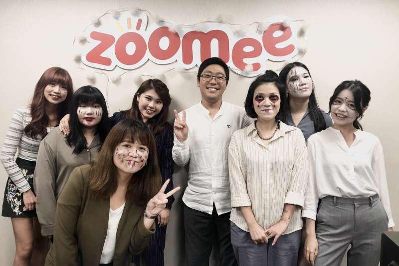 目前Zoomee已有高達15,000名會員,期望成為民眾生活工具以及創作者搖籃。(圖/Zoomee網紅平台提供)