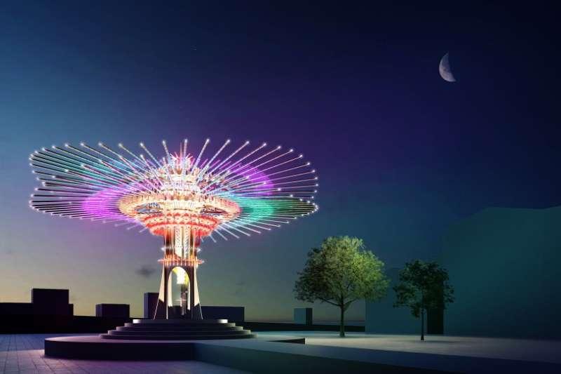 2021台灣燈會主燈(圖/取自台灣燈會官網)