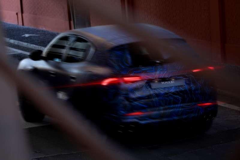 Maserati全新SUV Grecale原型車街頭實拍  (圖/Maserati)