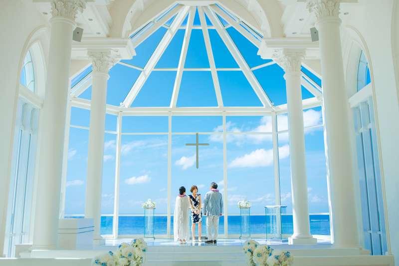 沖繩是舉辦海外婚禮的最佳選擇!(圖/沖縄縣産業振興公社)