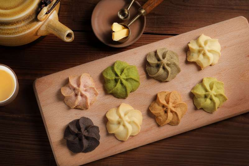 多達12種口味讓喜歡嚐鮮的食客在SweetsPURE都可以大大滿足。(圖/SweetsPURE溫感烘焙提供)