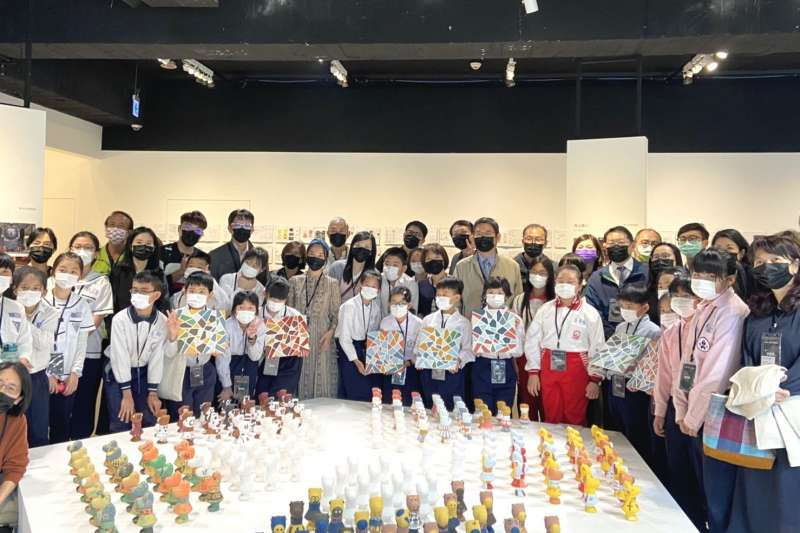 匯集五校134位孩童的創意,「天地俯中-感動牛 枋橋特展」即日起於板橋府中15盛大開展。(圖/新北市文化局提供)