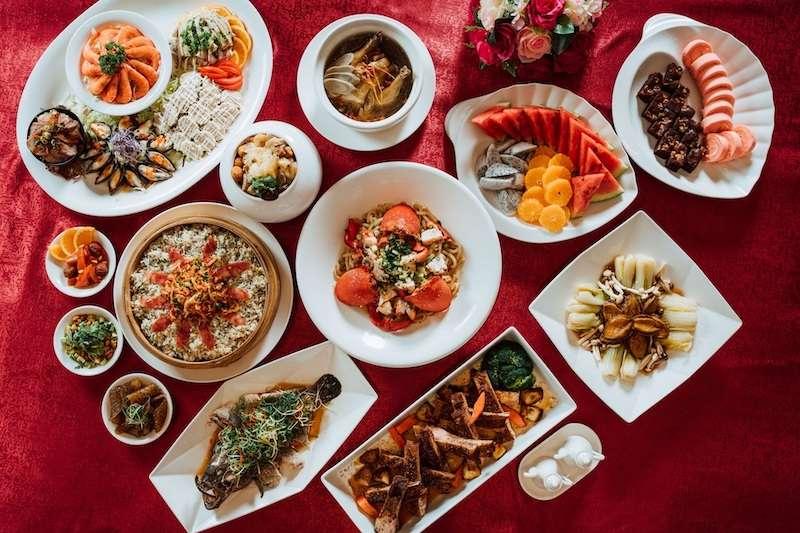 礁溪麒麟餐廳推出2021「豐年迎新·春酒饗宴」澎湃中式桌菜饗宴。(圖/潮旅Ciao提供)