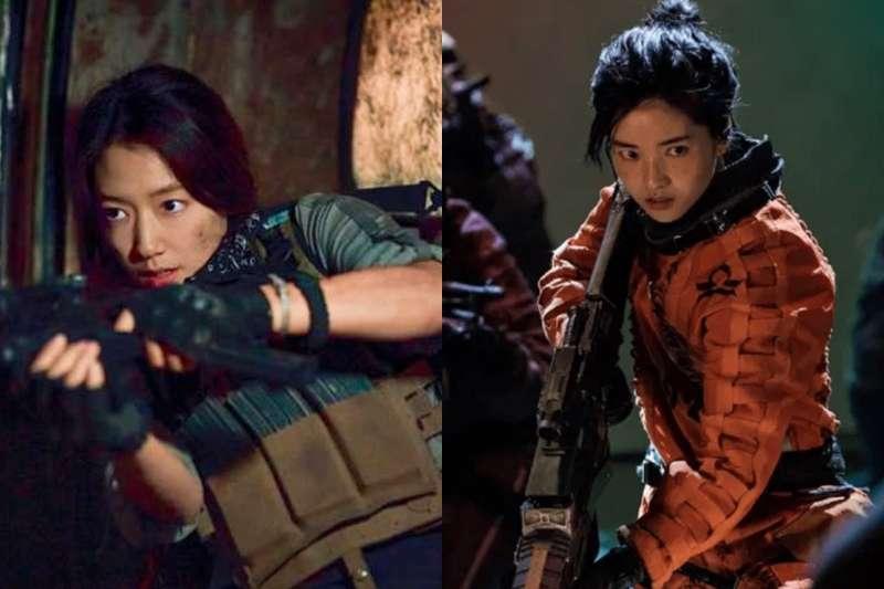 2021年開播的韓劇,許多女演員大甩過往柔弱形象,轉而挑戰武打與動作戲,挑戰新戲路!(圖/取自少女心文室)