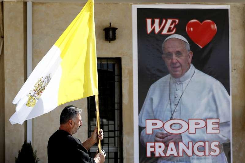 教宗方濟各將於3月5至8日訪問伊拉克,教廷駐伊拉克大使傳出確診染疫(AP)