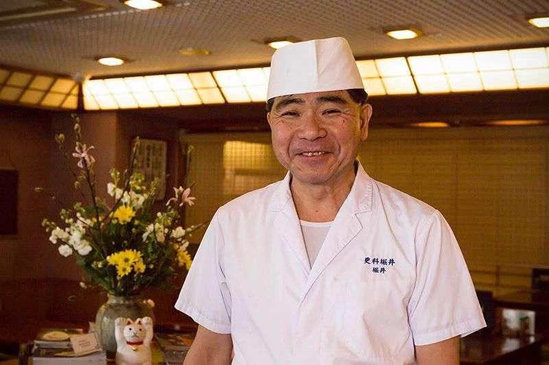 創建於1789年的老麵店的繼承人堀井先生 (圖/nippon.com)