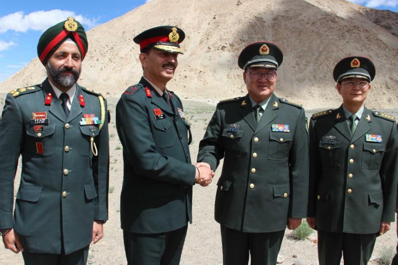 印度軍與中共軍雖然多次爆發武裝衝突,可兩者都有在二戰期間或者二戰結束後接受日軍訓練的紀錄,擁有共同的「大亞洲主義」,他們之間的共同點遠比他們與國軍的共同點還要多。(作者許劍虹提供)