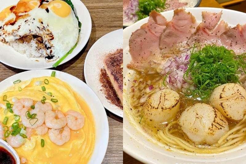 公館其實有許多隱密且cp值超高的美食,用料以及食材都不馬虎。 (圖/取自hojia_foodie@instagram、foodie_diaryyy@instagram)